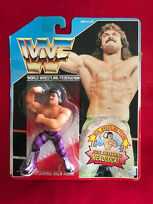 5160cf80 WWF WWE Ravishing Rick Rude Awakening Headlock Wrestling Figure New Hasbro  1990