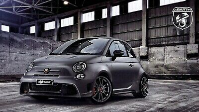 "ABARTH Fiat ""695 Biposto"" special edition 190 HP - 2014 - English sales brochure"