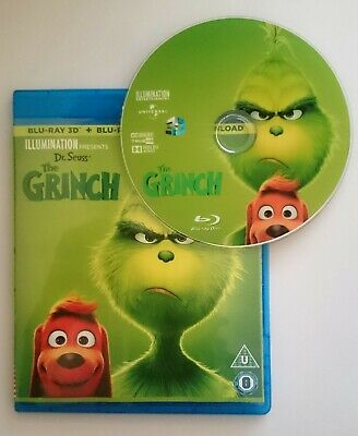 The Grinch [3D Blu-ray Disk] **Region Free**