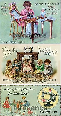 Singer 20 Toy Childs Sewing Machine 3 PICTURES