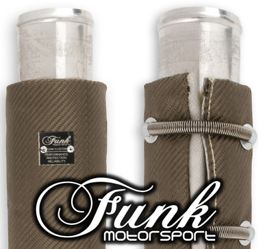 "Funk Motorsport Exhaust Wrap Around Blanket 3"" Dia. x 6"" like Turbo Blanket"