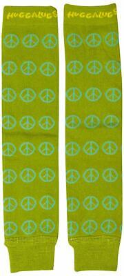 Huggalugs Unisex Baby Organic Legwarmers Sage Peace - Size Babies and Kids