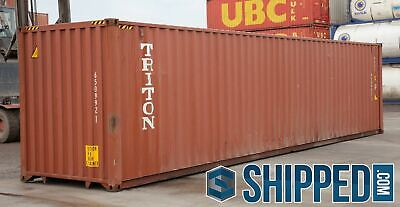 Used 40Ft Highcube Shipping Containers For All Storage - Pueblo, Colorado
