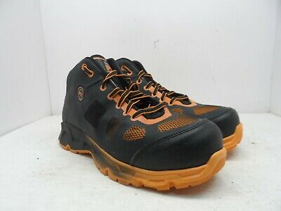 75d6eb1ed03 TIMBERLAND PRO VELOCITY Alloy Safety Toe EH Mid Indust Black Orange ...