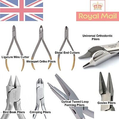 Orthodontic Bracket Removing Pliers Utility Forming Pliers Dental Instruments Ce