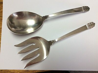 Penrose by Wallace Sterling Silver Salad Fork 6 3//4/""