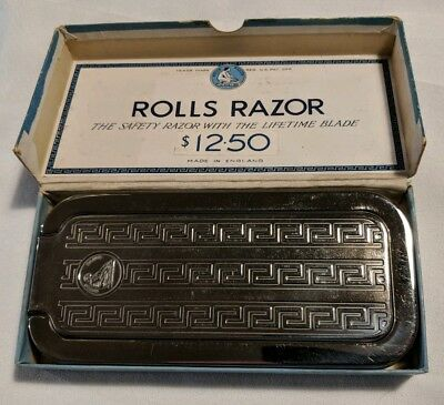 Antique Rolls Razor Kit Imperial No.2 Made In England Complete