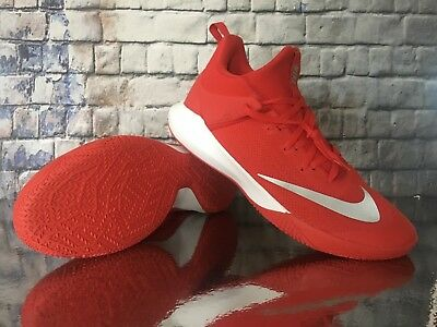 promo code 7964d 4fa1a Nike Zoom Shift Tb Shoes University Red White 897811-600 Mens Size 17 New