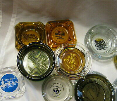 Vintage Other Casino Locations Ashtray - Your Choice - A Thru M - FREE Shipping