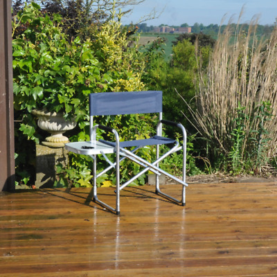 Kingfisher Directors Picnic Chair with Side Table