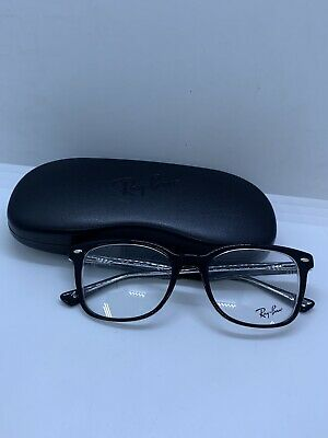 85195d8260 NEW Ray Ban RB5285 2034 Women s Black   Clear Rx Modern Eyeglasses Frames 53  19