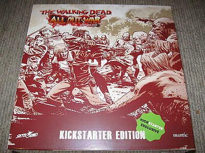 The Walking Dead All Out War KickStarter Exclusive Edition TWD Box Set Mantic