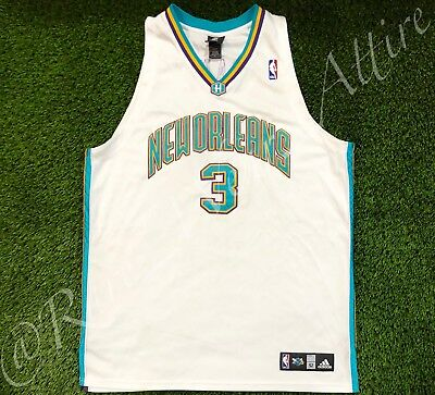 505f14f2be8c Nba Jersey New Orleans Charlotte Okc Hornets Chris Paul Rockets Authentic