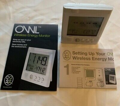 Owl Real Time Wireless Micro Electricity Energy Monitor Only Cm119A