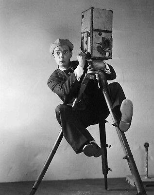 BUSTER KEATON COMEDY LEGEND IN THE CAMERAMAN 8X10 GLOSSY PHOTO 2