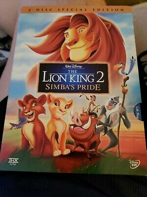The Lion King 2: Simbas Pride - Special Edition (DVD,2004,2-Disc)Authentic US