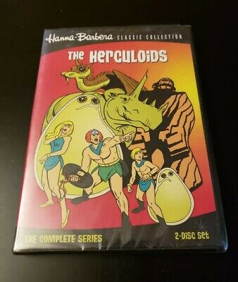 The Herculoids: The Complete Series DVD, 2011, 2-Disc Set Classic Collection 6A