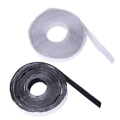 5M Sticky Back Strong Self Adhesive Tape Hook and Loop 20mm Nylon Fastener