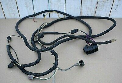 jeep cj 1981-86 factory original front light headlight wiring harness -- cj5  cj7