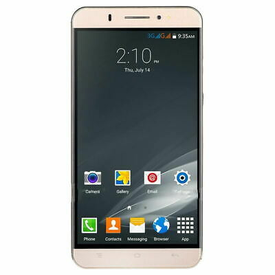 """6"""" Large Screen 3G GSM Unlocked Android 5.1 Quad Core 2SIM Mobile Smart Phone 8G"""
