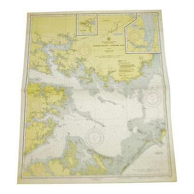 1951 U.S. East Coast Nautical Chart No. 1231