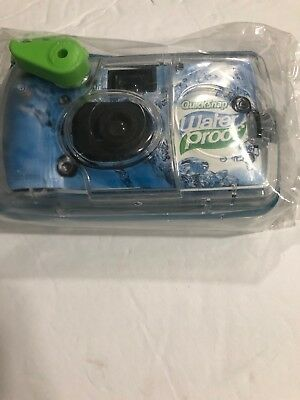 Fujifilm Quick Snap Waterproof 27 exp. 35mm Camera 800 filmBlue/Green/white1 ...
