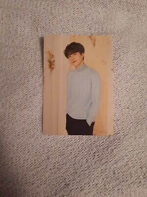 BTS Love Yourself World Tour Official SUGA Photocard 2/8