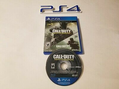 Call of Duty: Infinite Warfare Legacy Edition Sony PlayStation 4, 2016 used PS4