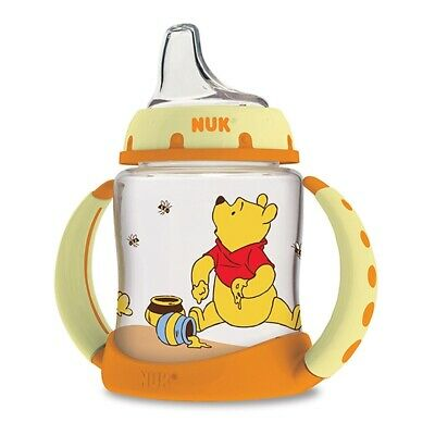 NUK, Disney Baby, Winnie The Pooh Learner Cup, 6+ Months, 1 Cup, 5 oz (150ml)