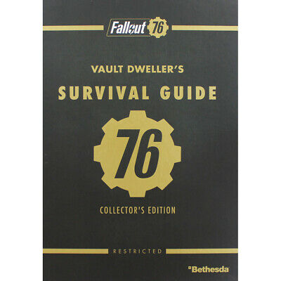Fallout 76 - Vault Dwellers - Official Collectors Edition Guide, Brand New