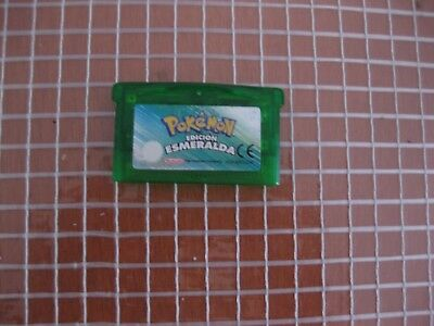 GBA Pokemon Edition Emerald Cartridge only Pal Spain Nintendo Gameboy Advance