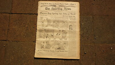 St LOUIS SPORTING NEWS BASEBALL NEWSPAPER, MAR 28 1951