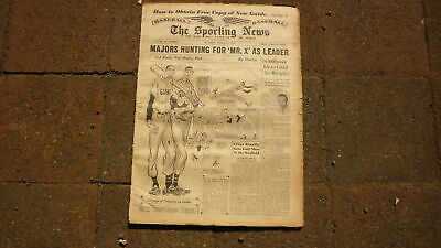 St LOUIS SPORTING NEWS BASEBALL NEWSPAPER, 21 MAR 1951 NEW YORK GIANTS