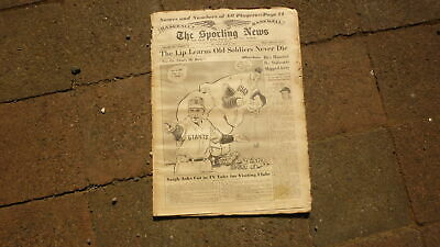 St LOUIS SPORTING NEWS BASEBALL NEWSPAPER, MAY 9 1951 NEW YORK GIANTS