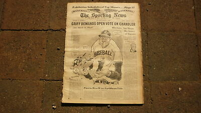 St LOUIS SPORTING NEWS BASEBALL NEWSPAPER, MAR 7 1951 THE OWNERS