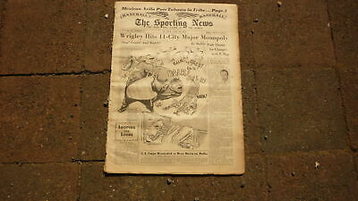 St LOUIS SPORTING NEWS BASEBALL NEWSPAPER, APR 11 1951