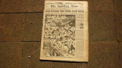 St LOUIS SPORTING NEWS BASEBALL NEWSPAPER, JAN 24 1951 HALL OF FAME FESTIVAL