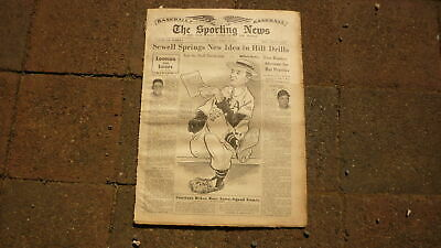 St LOUIS SPORTING NEWS BASEBALL NEWSPAPER, MAR 14 1951  JIMMY DYKES LUKE SEWELL