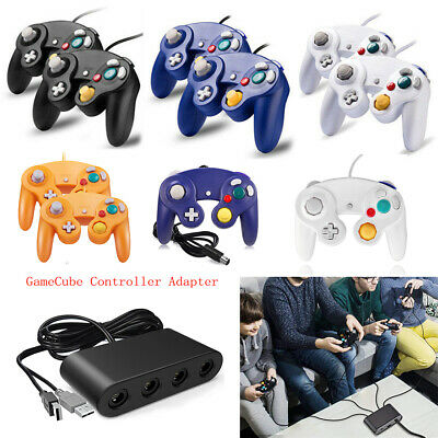 Gamecube Controller Adapter NGC Controller for Nintendo Switch GameCube, PC USB