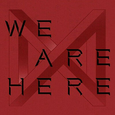 MONSTA X TAKE.2 WE ARE HERE 2nd Album 4 Ver SET+POSTER+4ea Book+8p Card+GIFT