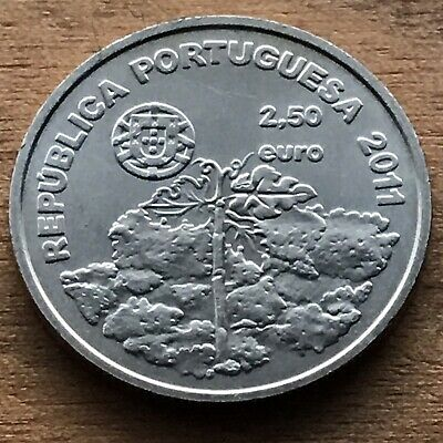 2,50 Euro 2011 Portugal 🇵🇹 Wold Heritage - Vineyards of Pico island • UNC