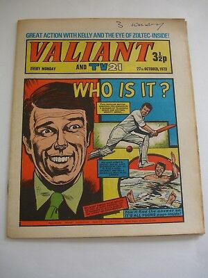 VALIANT And TV 21 comic 27th October 1973