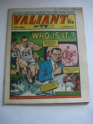 VALIANT And TV 21 comic 6th October 1973