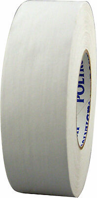 "WHITE Gaffers Tape POLYKEN 510 72mm x 50M (3"" x55yds) Full Case of 16 Rolls"