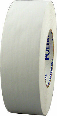"WHITE Gaffers Tape POLYKEN 510 72mm x 50M (3""x 55yds) - Convenience Pack 3 Rolls"