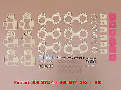 Ferrari 365 Gtc 4 - Gt4 2+2 - 400 - Weber 38 Dcoe  Joints - Repair Kit -