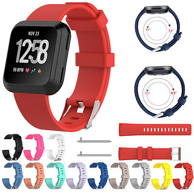 For Fitbit Versa /Versa Lite Strap Replacement Fabric Silicone Watch Band UK
