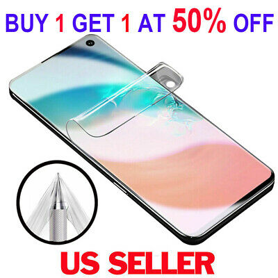 100% FULL COVER HD Screen Protector For Samsung Galaxy S10+ Plus S10e S9 Note 9