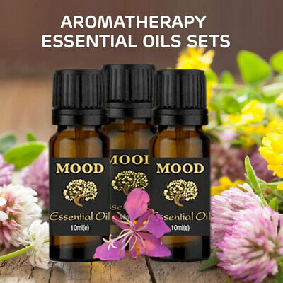 Essential Oils Set Pure Aromatherapy Natural Therapeutic Oil Grade Kit Gift