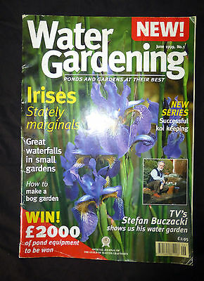 Water Gardening, June 1999, Ponds and Gardens at their best, Issue 1